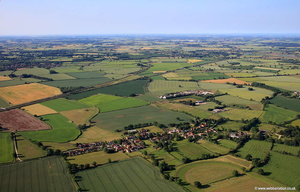 Colton Tadcaster Yorkshire   aerial photograph