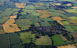 aerial photograph of Bilbrough