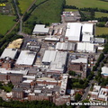 Nestle Rountrees factory   York  Yorkshire England UK aerial photograph