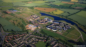 University of York Heslington East Campus aerial photograph