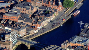 York Riverside aerial photograph