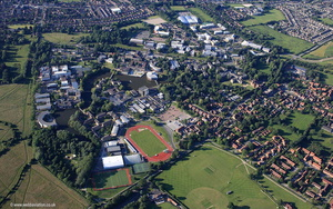 University of York  aerial photograph