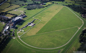York Racecourse aerial photograph