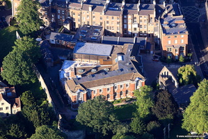 York Central Library aerial photograph