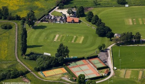 Clifton Park York, home of  York Cricket Club  from the air