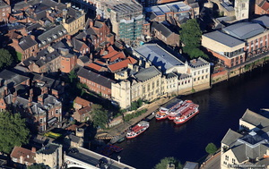 York Guildhall   aerial photograph