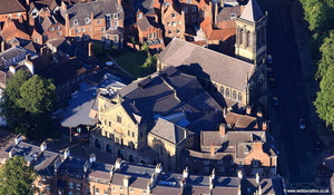 York Theatre Royal aerial photograph