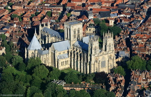 York Minster aerial photograph