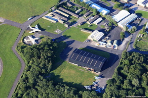 Yorkshire Air Museum aerial photograph