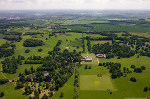 Althorp Hous  from the air