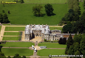 Althorp House Northamptonshire aerial photograph