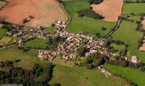 Cold Ashby Northamptonshire from the air