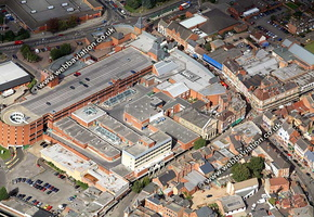 Kettering Northamptonshire aerial photograph