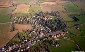 Maidwell  Northamptonshire aerial photograph