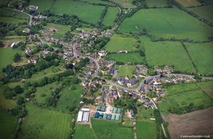 Moreton Pinkney Northamptonshire  aerial photograph