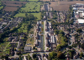 former Royal Ordnance Depot Weedon Bec   from the air