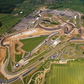 Silverstone Circuit  Northamptonshire aerial photograph