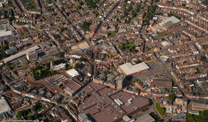 Wellingborough  from the air