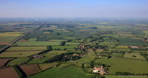 Car Colston Nottinghamshire from the air
