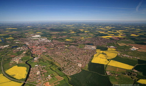 Newark UK  from the air