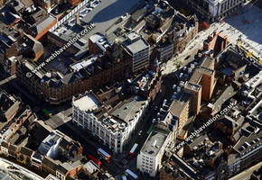Nottingham aerial photograph