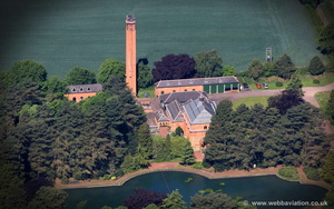 Papplewick Pumping Station   aerial photo