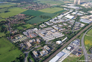 Milton Park Estate Abingdon   aerial photograph