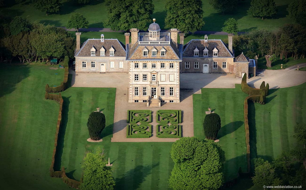 Ashdown House, Oxfordshire aerial photograph