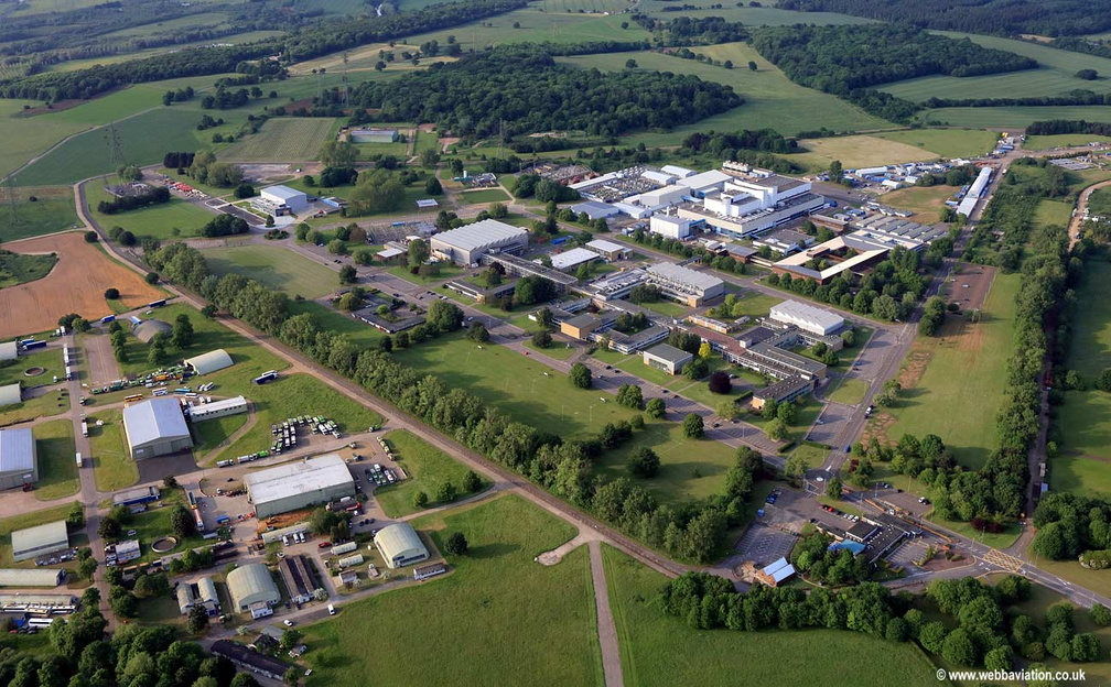 Culham Centre for Fusion Energy aerial photograph
