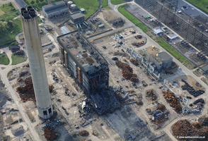 Didcot power station aerial photograph
