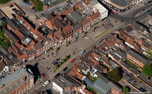Market Place  Henley-on-Thames  from the air