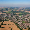 Kidlington Oxfordshire aerial photograph