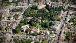 All Saints Convent and St Mary's Church Oxford  aerial photograph