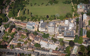 Department of Engineering Science, Oxford  University aerial photograph