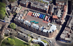 Gloucester Green bus station, Oxford  aerial photograph