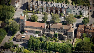 Greyfriars, Oxford from the air