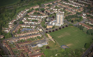 Headington Oxford UK aerial photograph