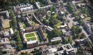 Keble College, Oxford  aerial photograph
