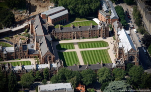 Keble College, Oxford from the air