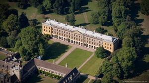 New Building  , Magdalen College, Oxford  aerial photograph
