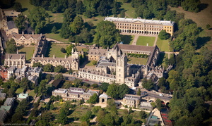 Magdalen College, Oxford  aerial photograph