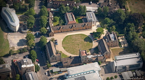 Mansfield College, Oxford University  aerial photograph
