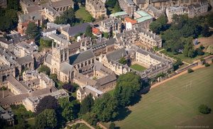 Merton College, Oxford aerial photograph