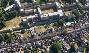New College, Oxford aerial photograph