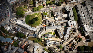 Oxford Castle from the air