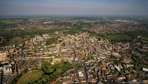 Oxford Great Britain from the air