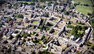 Oxford University aerial photograph