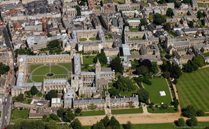 Oxford University from the air