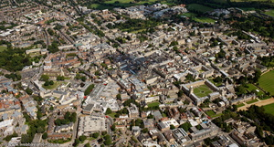 Oxford city centre from the air