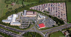 Pear Tree Park & Ride aerial photograph